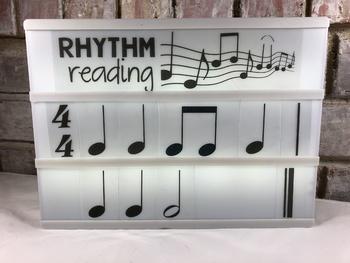 Lightbox Inserts - Rhythms and Solfa