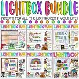 Lightbox Mega Bundle   Classroom Decor