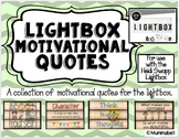 Lightbox Motivational Quotes