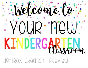 """Lightbox - Open House """"Welcome to"""""""