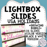Lightbox Slides USA Holidays