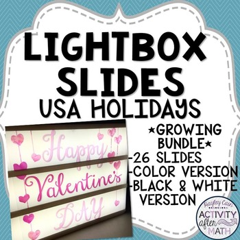 Lightbox Slides USA Holidays