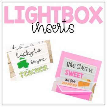 Lightbox insert- freebie