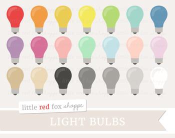 Lightbulb Clipart; Light Bulb
