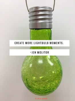 Lightbulb Moments Poster
