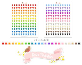 Lightbulb Printable Planner Stickers