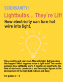 Lightbulbs... They're Liit! - Science Reader for Guided, S