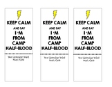 Lightning Thief Bookmarks
