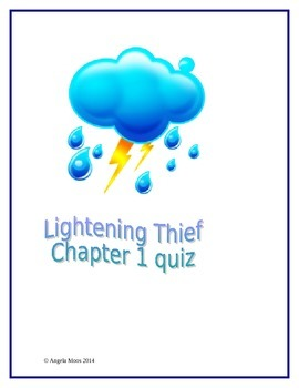 Lightening Thief Chapter 1 Quiz