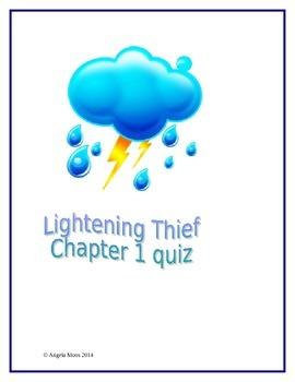 Lightening Thief Chapter 1 Quiz