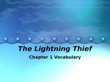 Lightening Thief Chapter 1 Vocabulary
