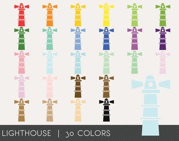 Lighthouse Digital Clipart, Lighthouse Graphics, Lighthouse PNG