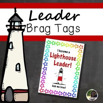 Lighthouse Leader Brag Tags