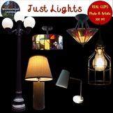 Lighting Clip Art Photo & Artistic Digital Stickers Just Lights