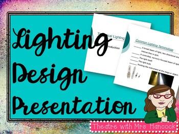 Lighting Design Power Point