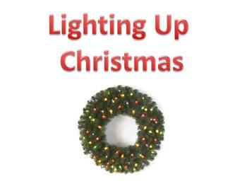 Lighting Up Christmas