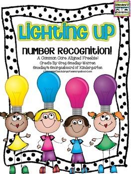 Lighting Up Numbers FREEBIE!