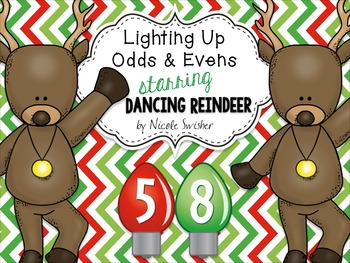 Lighting Up Odds and Evens Starring the Dancing Reindeer