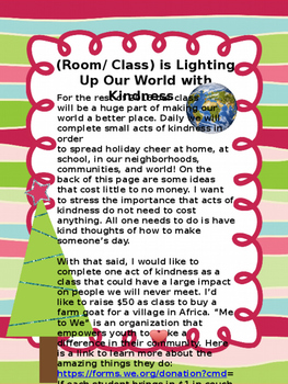 Lighting Up the World with Kindness