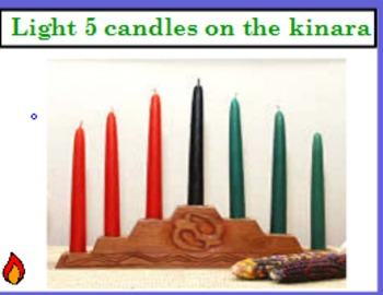 Lighting the Kinara (counting with 1:1 correspondance)