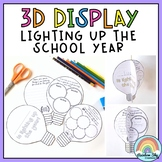 Lighting up the year - 3D Light bulb Display ( Back to Sch