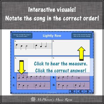 Lightly Row - Soprano Recorder Visuals (Notes GABCD)