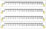 Lightning Bug Number Lines to 20