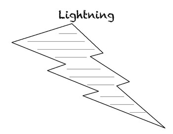 Lightning Concrete Poem
