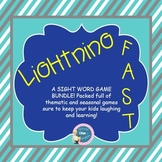 Sight Word Games {Thematic Sight Word Bundle}
