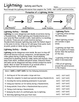Lightning Introduction - Safety and Facts - Weather
