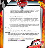 Lightning McQueen's Fraction Race