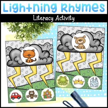 Lightning Rhymes   Rhyming Activity