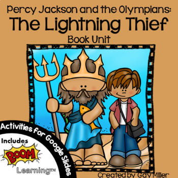 The Lightning Thief Novel Study: vocabulary, chapter quizzes, writing, skills