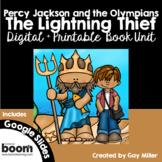 The Lightning Thief Novel Study: Digital + Printable Book Unit
