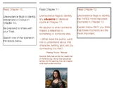 Lightning Thief--Brochure toTrack Independent Reading for