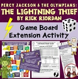 The Lightning Thief Game Board Novel Study Activity
