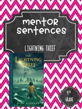 Lightning Thief Guidebook Mentor Sentences