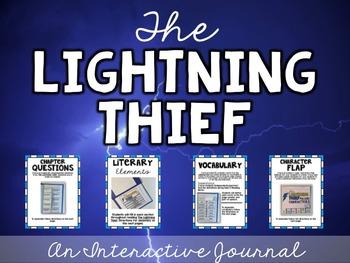 Lightning Thief Interactive Journal