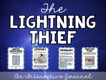 Lightning Thief Interactive Journal