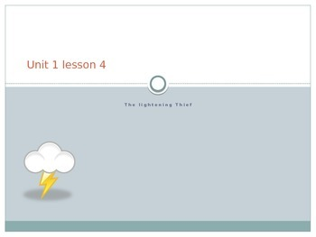 Lightning Thief Lesson 2