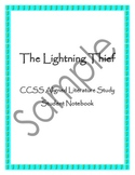 Lightning Thief Literature Study - Common Core Aligned