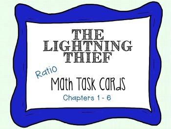 Lightning Thief Math Task Cards {RATIOS}