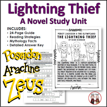 The Lightning Thief Vocabulary By Chapter Worksheets