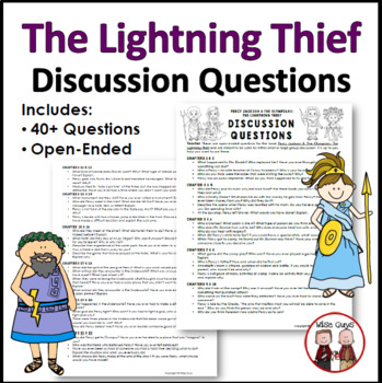 Lightning Thief Discussion Questions