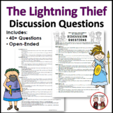 Lightning Thief Novel Study Discussion Questions