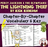Lightning Thief Vocabulary Word Study