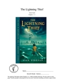 Lightning Thief Study Guide Chapters 1-11 Percy Jackson.