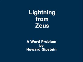 Lightning from Zeus