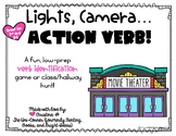 Lights, Camera, Action Verb! Low-Prep Game for Identifying Verbs