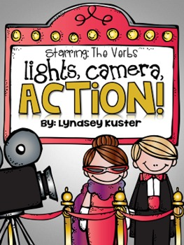 Lights, Camera, ACTION! {Verb Activity Packet}
